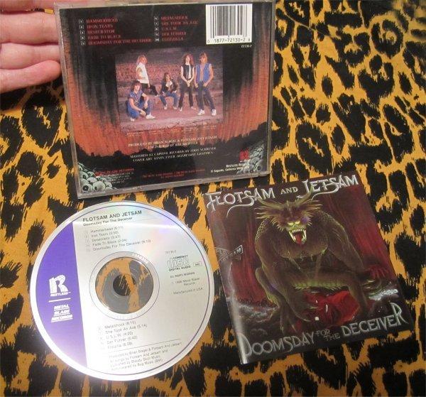 Flotsam & Jetsam - Doomsday For The Deceiver / Original CD 80s Heavy Metal RARE