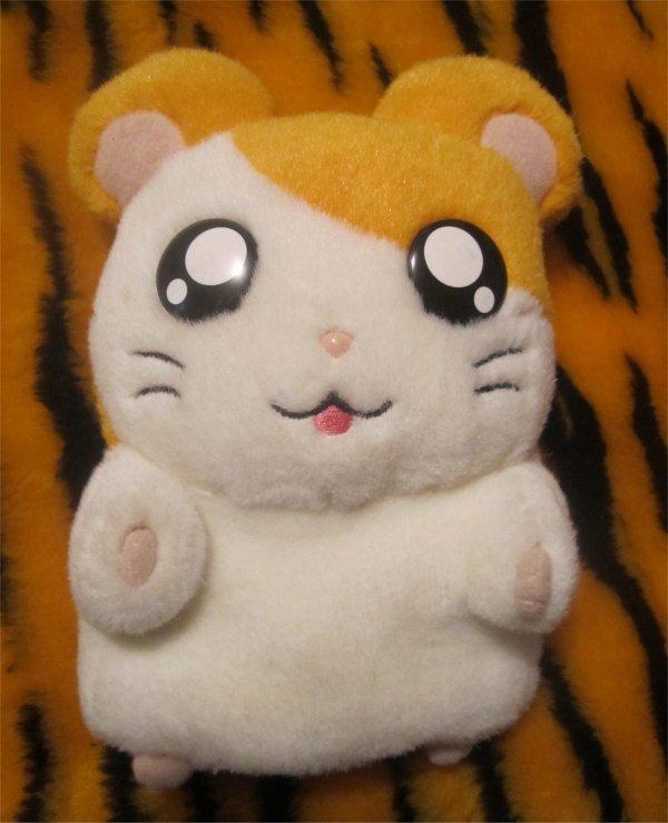 Hamtaro Hamster Plush Hand Puppet Toy Doll anime manga