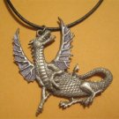 Dragon Necklace by JJ Pewter (mystical,fantasy) JJ Jonette