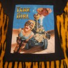 Tank Girl Fitted Shirt- size Small  (cult comic / pop culture movie)