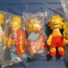1990 SET 5 SIMPSONS Burger King figure Dolls B K