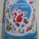 "Walt Disney's Santa's Toy Shop Little Golden Book 1950 edition "" A "" (Christmas)"