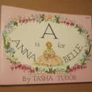 A is For Anna Belle by Tasha Tudor Softcover Rand McNally 1954