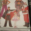 Simplicity Costume/Costumes Pattern 8289 Santa Clause,Arabian Knight,Harem Girl,Dracula,Ballerina