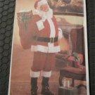 Butterick 6815 Classic Santa Claus Costume Outfit -Suit Pattern Sz. S-XL (Christmas)