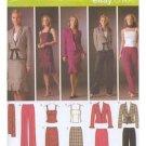 Simplicity 4885 sewing pattern, dress, jacket, skirt, pants, Size 6-12