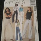 McCall's Sewing Pattern 3935 Trendy Wide leg,bell bottom pants Size 4,6,8,10