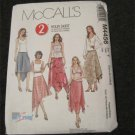 McCall's 4456 Misses Sewing pattern  2-Hour Asymmetrical Hemline Skirt