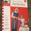 How to Make Aprons (Singer Sewing Library) 1962 Spiral Bound