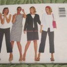 Butterick sewing pattern 6942 Very Easy Jacket,Top,Skirt & Capri's Uncut Size 12-14-16