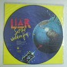 "LIAR SET THE WORLD ON FIRE LP PICTURE DISC Record 12"" Vinyl"