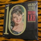 "Brenda Lee - 10 Golden Years LP Vintage  12"" Vinyl Record  - SEALED Decca  DL4757 FREE SHIPPING"