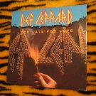 "DEF LEPPARD TOO LATE FOR LOVE 12"" VINYL  Single OOP FREE SHIPPING"