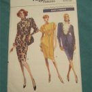 Vogue Sewing Pattern 7348 Loose Fit tapered Dress Size 8-10-12 Uncut