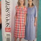 Butterick 4106 see & sew 4106 Ladies Dress pattern size L,XL uncut