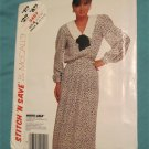 McCalls Sewing pattern 3457 Pullover Dress Bow tie and Belt Size 12-14-16 uncut