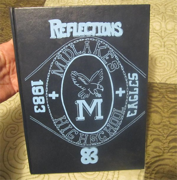 1983 Midlakes High School Yearbook Clifton Springs NY