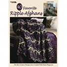 40 Favorite Ripple Afghans (Crotchet) Easy to Follow Instruction  Softcover book