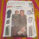 McCall's 9638  Sewing Pattern Mens Pajamas,Robe