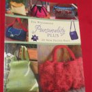 Pursenalities: 20 Great Knitted And Felted Bags Purse Eva Wiechmann(Instruction,Crafts/Knitting)