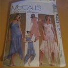 McCall's 4373 Sewing Pattern Misses Evening Elegance Formal,Asymmetrical  prom dress