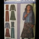 Simplicity 4375 Khaliah Ali Collection Skirt, Pants, Jacket, Vest