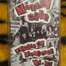 Motley Crue Decade Of Decadence Audio Cassette (rock,metal,hairband,80s) FREE SHIPPING