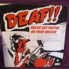 "You've Got Foetus On Your Breath - Deaf (Self Immolation) 12"" Vinyl Record SUPER RARE! FREE SHIPPING"