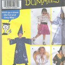 Childrens Sewing patterns Costumes Scarecrow,Wizard,Angel + Uncut