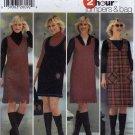 Simplicity 5850 Pattern Misses 2 Hour Jumpers & Bag Size 12 - 20