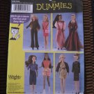 Simplicity 7073 Sewing for Dummies Doll Clothes Pattern 11 1/2 Inch doll clothing