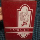 1973 Latrator Yearbook Barker Central School Barker, New York Reflections Annual