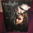 Twilight  The Movie Soundtrack Piano Vocal Guitar Sheet Music Book
