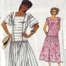 very easy very vogue 9241, vintage 80s dress pattern UNCUT size 6 8 10