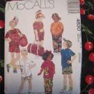 McCall's 4830 Child's Sportswear bag Hat Sewing Pattern Size 6, 7 UNCUT
