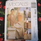McCall's 2795 Summer set of shirts pant skirt pattern  size 8,10,12