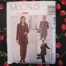 1998 McCall's 9514 Sewing Pattern Misses' Jacket, Top, Pull-on Pants and Skirt, Size 12,14,16
