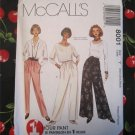 McCall's Pattern 8001 - 1 Hour Misses Pull On Pants