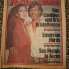 ROLLING STONE NEWSPAPER FEBRUARY 23, 1978 KRIS KRISTOFFERSON & RITA COOLIDGE Sex Pistols
