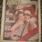 Rolling Stone Issue 279 Nov 1978~ Steve Martin, Sid Vicious, Keith Richards