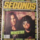 Seconds Magazine Issue #19 Ministry,Suicide,Babes In Toyland,Beastie Boys,Deicide,etc