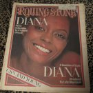 Rolling Stone Magazine Diana Ross August 11,1977 #245