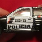 Hard to find Hotwheels Escort Rally Police Policia Car (loose, no package)