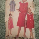 3042 Vintage 1950's  Sew Easy Advance Sewing Pattern Nightgown
