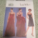 Butterick Sewing Pattern 3340 Evening A-Line Shoulder Strap Dress & Stole Sizes 12,14,16
