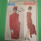 Vogue 1749 Sewing Pattern 1960s Vintage Vogue Lanvin Designer Vogue Paris Original Size 14