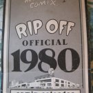 Rip Off Press Comix Calendar 1980. Underground (Vintage ,Hippie,Dope)RARE
