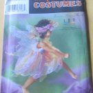 Girls Fairy Costume Simplicity 8838 size 3 4 5 6 7 8 Halloween Pattern Dress Bloomer Headband Wings