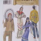 Simplicity 5446 Native American Indian adult costume sewing pattern XS-XL uncut new