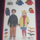 Butterick 5714, &quot;Fast and Easy&quot; Kids Jacket, Pants, Skirt, Hat, Scarf Pattern, Size 6,7,8 UNCUT